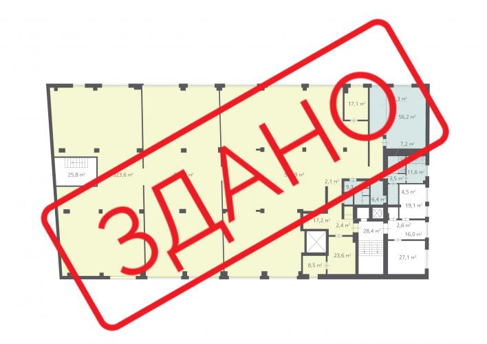 1349,4 м², (2 поверх)