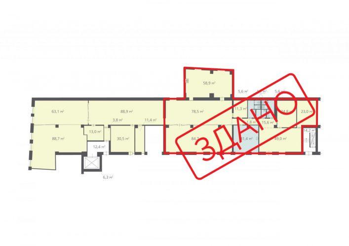 695,8 м², (1 поверх)