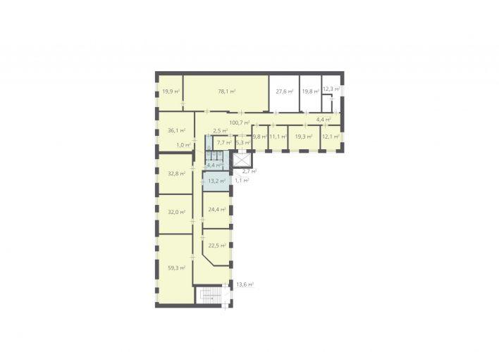 561,2 м², (5 поверх)