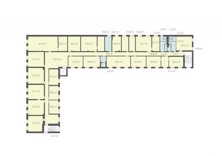 868,4 м², (4 поверх)